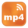 Icono RSS videos en formato mp4